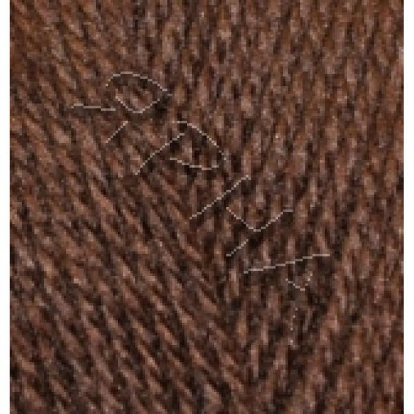Пряжа Бургум классик Alize (Ализе) #    493 [коричневый]