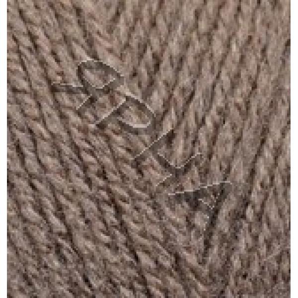 Yarn Burcum classik Alize (Ализе) #    534 [св.коричневый]