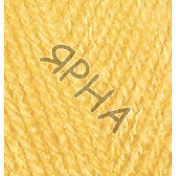Пряжа Бургум классик Alize (Ализе) #    216 [желтый]