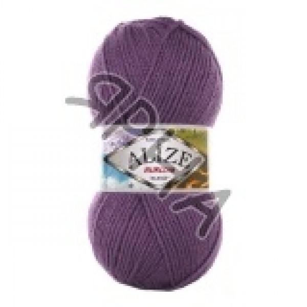 Пряжа Бургум классик Alize (Ализе) #    206 [сирень]