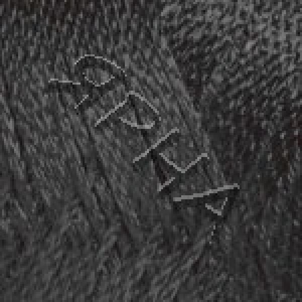 Вискоза шнур (PEARL) #    107 [черный]
