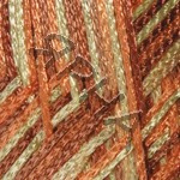 Вискоза шнур (PEARL) #    211 [кор-оран.меланж]