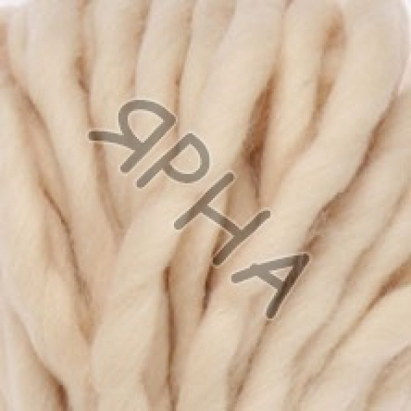 Yarn Wool decor Картопу #   1037 [молоко]