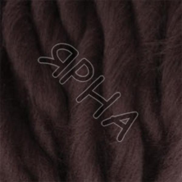 Пряжа в мотках Вул декор Картопу #   1890 [коричневый]