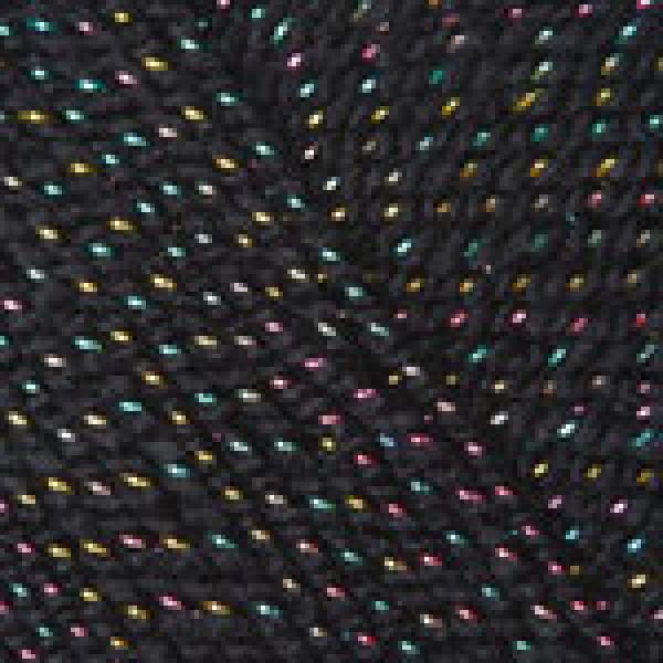 Yarn Gold RAM YarnArt (РАМ) #   9034 [черный+радуга]