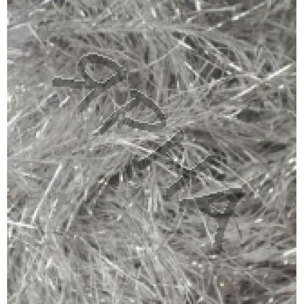 Yarn Decofur simli Alize (Ализе) #   2101 [серый с люрексом]