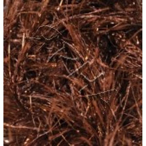 Yarn Decofur simli Alize (Ализе) #   2601 [коричневый]