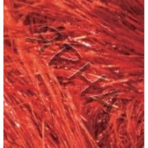 Yarn Decofur simli Alize (Ализе) #   5601 [красный]