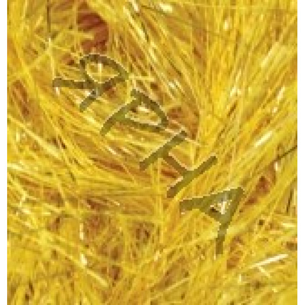 Yarn Decofur simli Alize (Ализе) #  21601 [желтый]