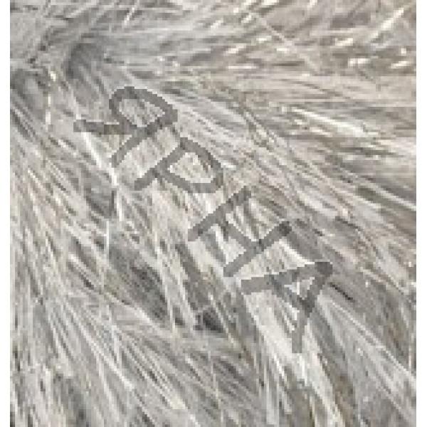 Yarn Decofur simli Alize (Ализе) #   5502 [белый с серебром]
