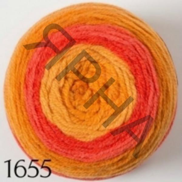 Пряжа Джерси Картопу #   1655 [меланж]