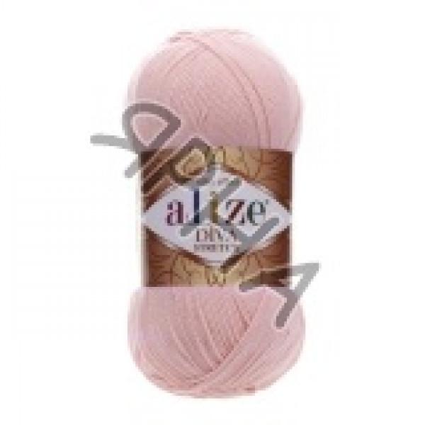 Пряжа в мотках Дива стрейч Alize (Ализе) #    363 [розовый]