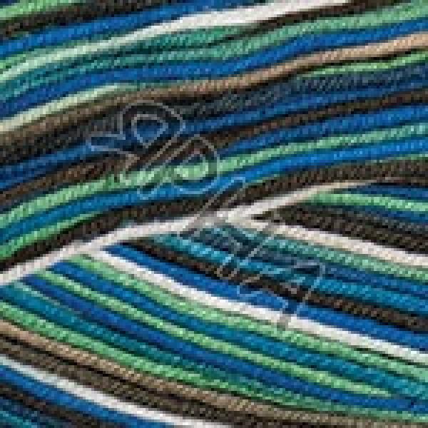 Yarn Ideal crazy YarnArt (РАМ) #   3203 [бирюз-сал-шокол/бе]