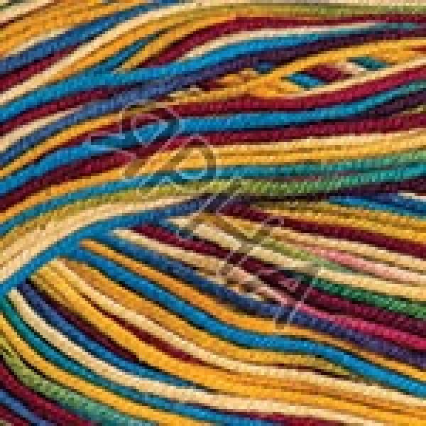 Yarn Ideal crazy YarnArt (РАМ) #   3202 [желт-сини-борд]