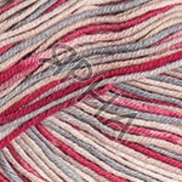Yarn Ideal crazy YarnArt (РАМ) #   3201 [серо-молоч-коралл]