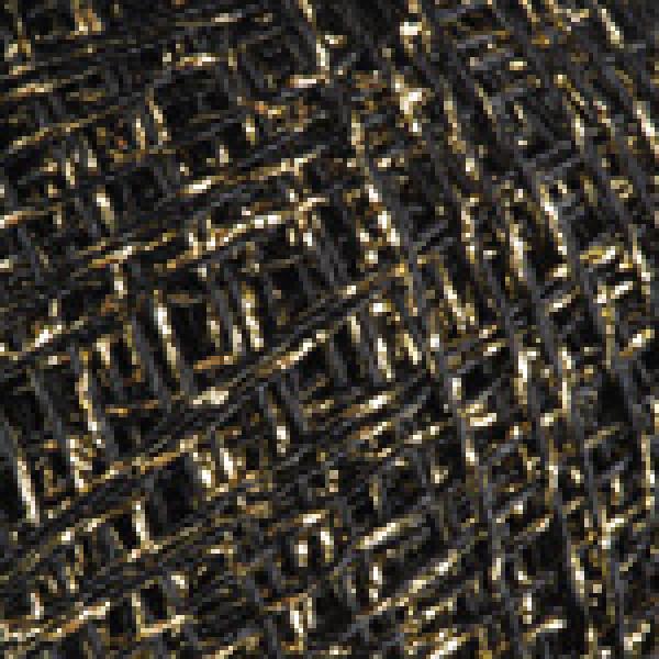 Пряжа Камелия YarnArt (РАМ) #    022 [черный+золото]