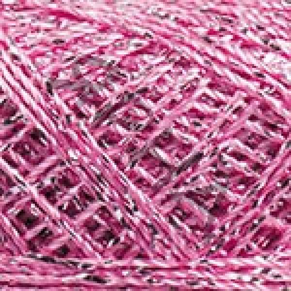 Yarn Camellia YarnArt (РАМ) #    415 [розовый+серебро]
