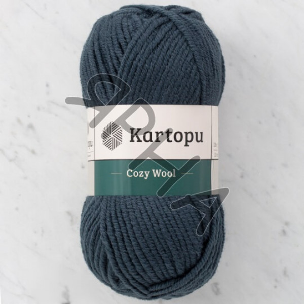 Yarn Cozy wool Картопу #   1480 [грифель]