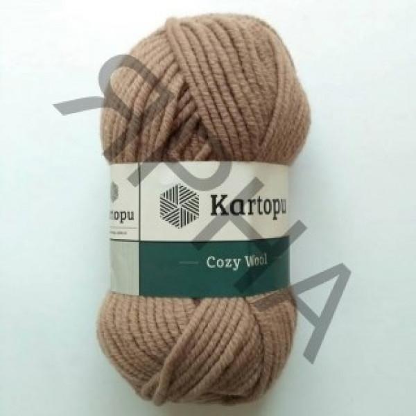 Yarn Cozy wool Картопу #    885 [беж]