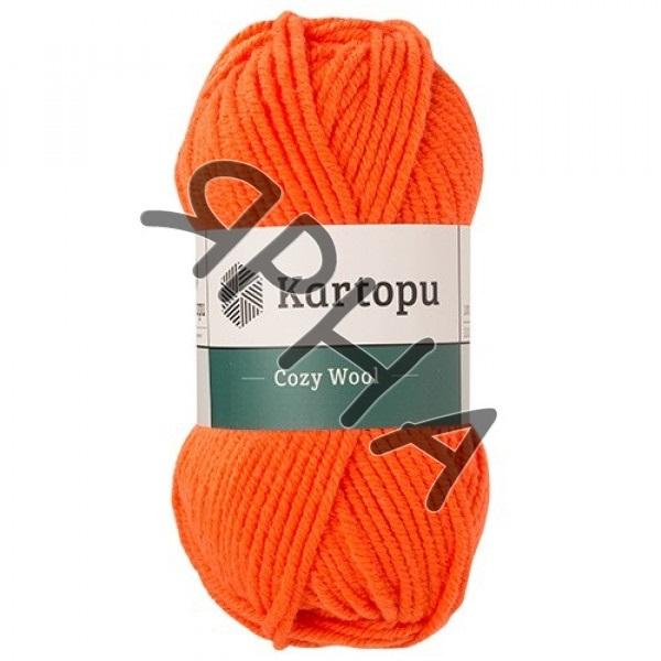 Yarn Cozy wool Картопу #   1211 [алый]