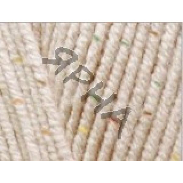 Yarn Cotton gold tweed Alize (Ализе) #     67 [молочно-бежевый]