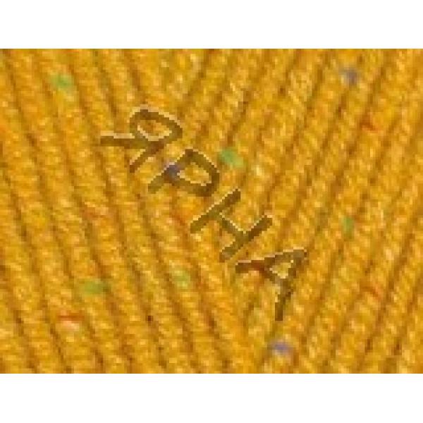 Yarn Cotton gold tweed Alize (Ализе) #     02 [горчичный]