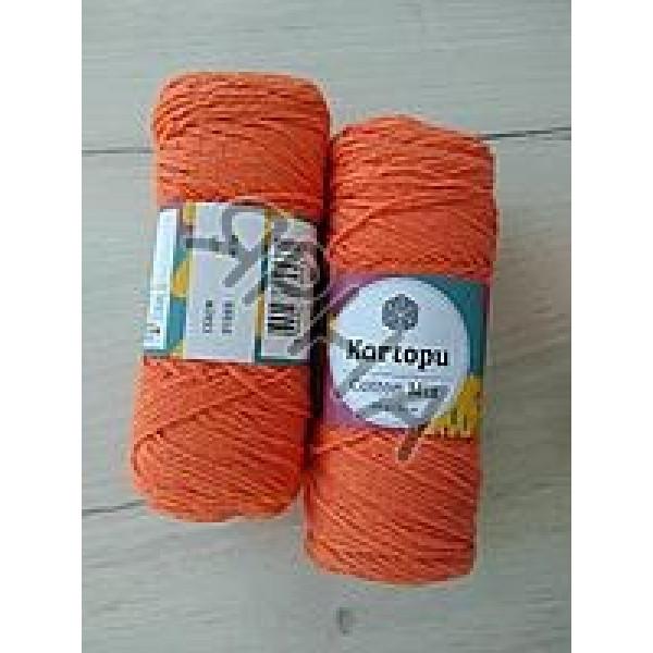 Yarn Cotton mix Картопу #   2135 [оранж]