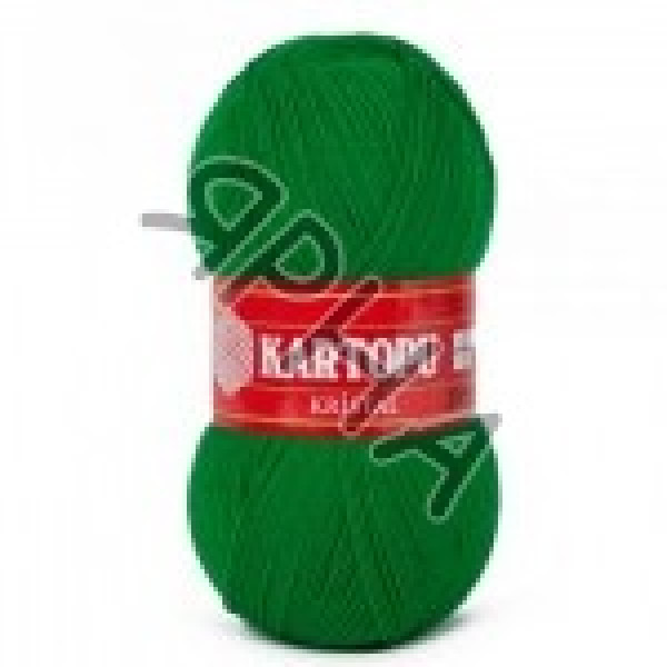 Yarn Kristal Kartopu Картопу #  40376 [т.зелень]