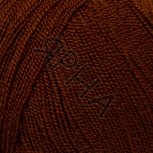 Пряжа в мотках Кристал Картопу Картопу #    891 [коричневый]
