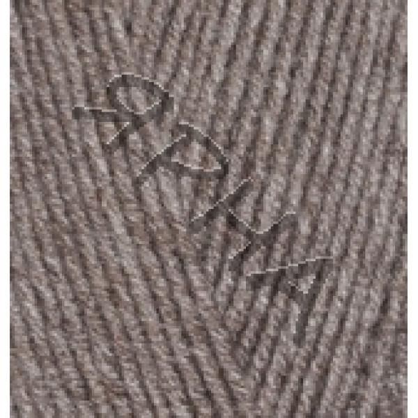Пряжа в мотках Лана Голд 800 Alize (Ализе) #    240 [чв.коричневый мелж]