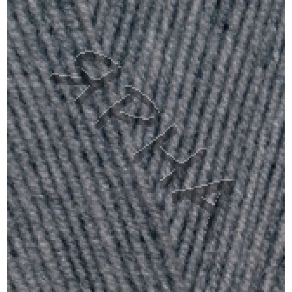 Пряжа в мотках Лана Голд 800 Alize (Ализе) #    182 [ср.серый меланж]