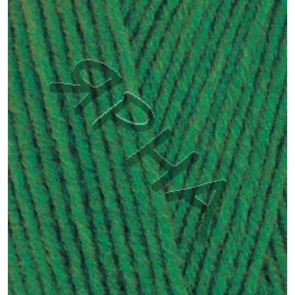 Пряжа в мотках Лана Голд 800 Alize (Ализе) #    118 [трава]