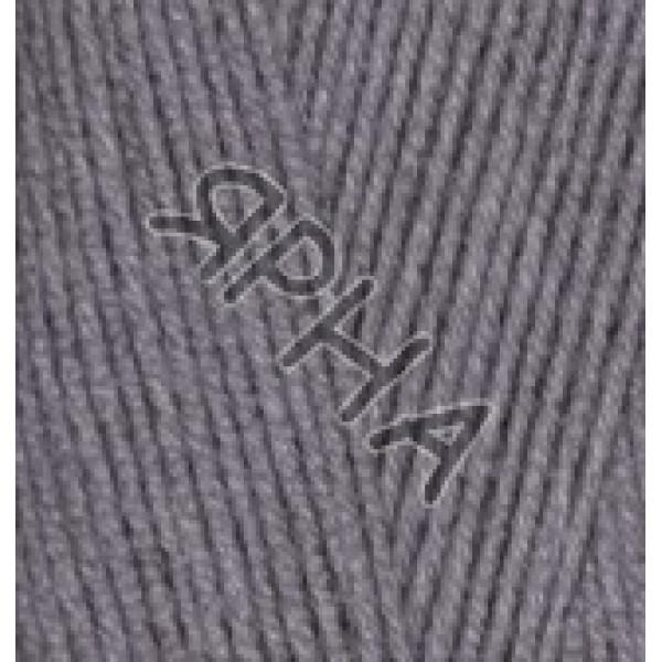Пряжа в мотках Лана Голд 800 Alize (Ализе) #    348 [т.серый]