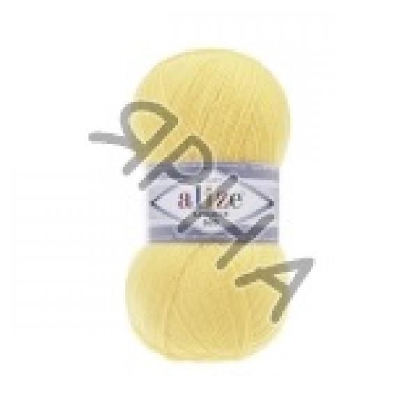 Пряжа в мотках Лана Голд 800 Alize (Ализе) #    187 [желтый]