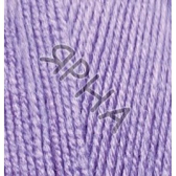 Пряжа в мотках Лана Голд 800 Alize (Ализе) #    166 [лиловый]