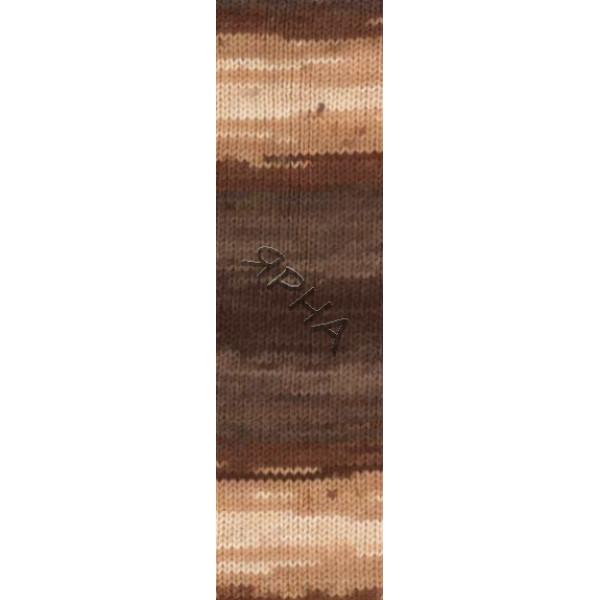 Пряжа в мотках Лана голд Батик Alize (Ализе) #   1732 [меланж]