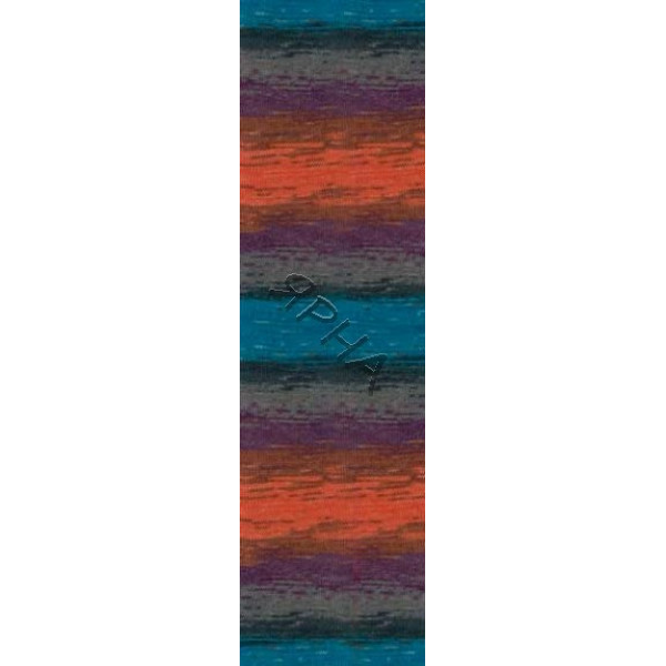Yarn Lana gold batik Alize (Ализе) #   4209 [меланж]