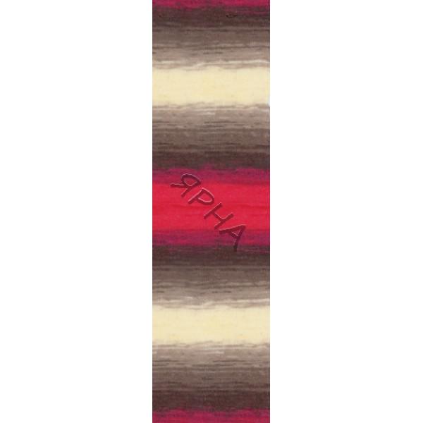 Пряжа в мотках Лана голд Батик Alize (Ализе) #   4574 [меланж]