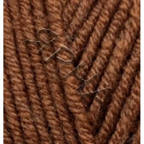 Yarn Lana gold plus Alize (Ализе) #    373 [каштан]
