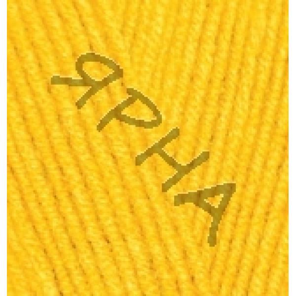 Yarn Lana gold fine Alize (Ализе) #    216 [желтый]