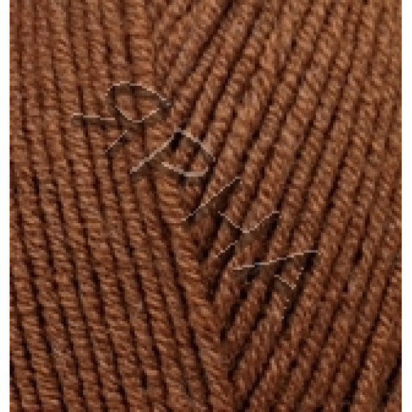 Yarn Lana gold fine Alize (Ализе) #    373 [коричневый]