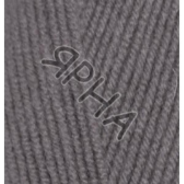 Пряжа в мотках Лана голд файн Alize (Ализе) #    348 [т.серый]