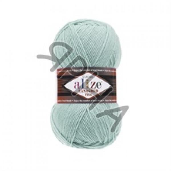 Пряжа в мотках Лана голд файн Alize (Ализе) #    522 [мята]