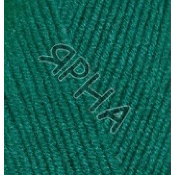 Пряжа в мотках Лана голд файн Alize (Ализе) #    507 [изумруд]