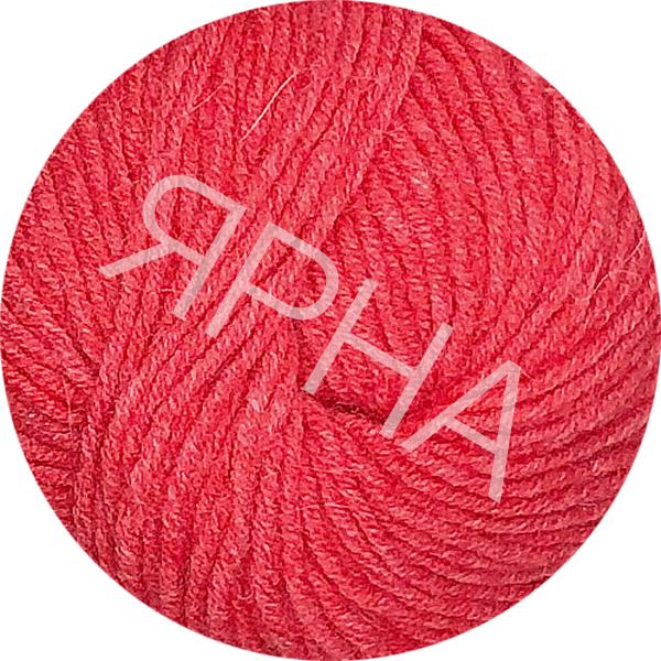 Yarn Angora wool Ярна # 111/70 [коралл]