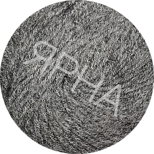 Yarn Angora wool Ярна # 303/70 [серый]
