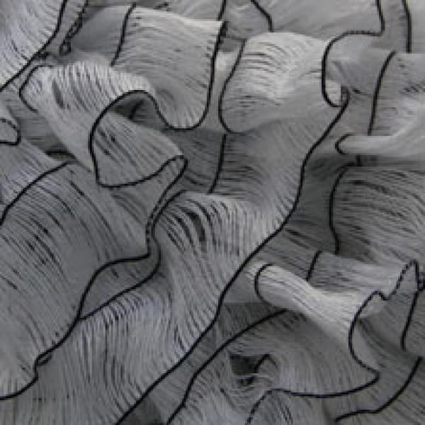 Пряжа в мотках Мерилин Турция #  100-2 [бело-черный]