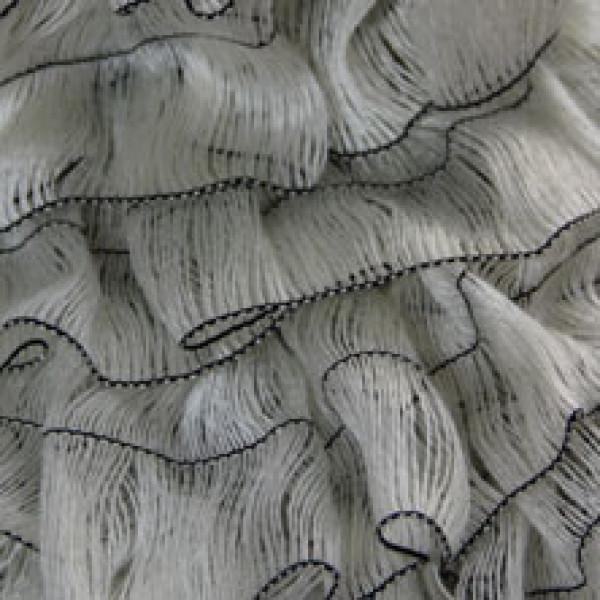 Пряжа в мотках Мерилин Турция #  101-2 [молочно-черный]