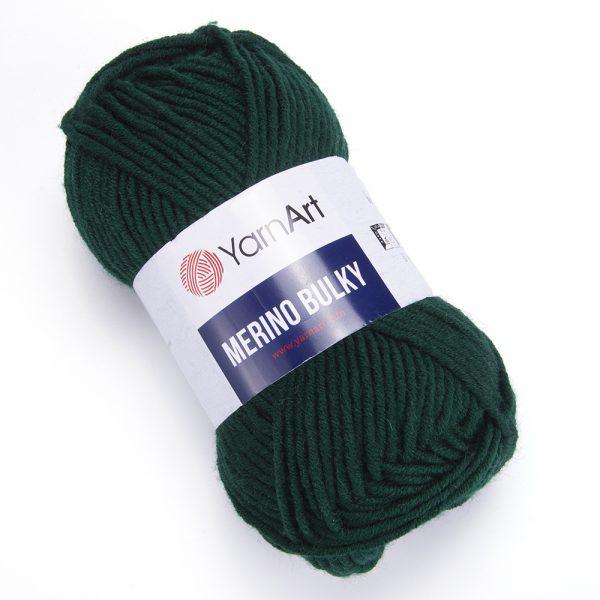 Мерино Балка 590 т зеленый YarnArt (РАМ)