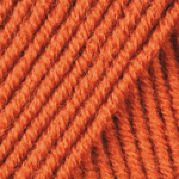 Yarn Merino deluxe 50 YarnArt (РАМ) #   3027 [оранж]